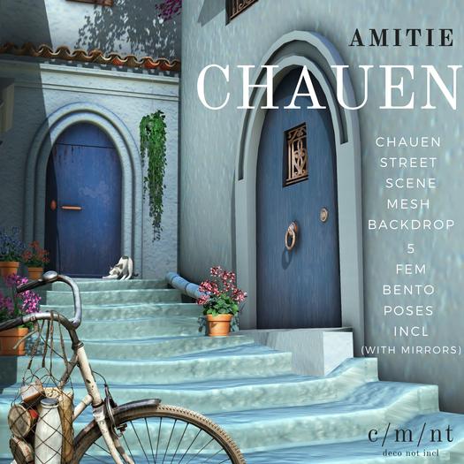 Amitie Chauen Scene Backdrop