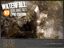 :NEW: Waterfall Building Set - V3 EPIC Edition