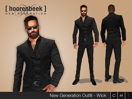 Complete Outfit - Wick - Signature, Belleza, SLink, Classic Avatar