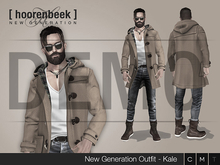 [ hoorenbeek ] NG Outfit - BOX - Kale - DEMO