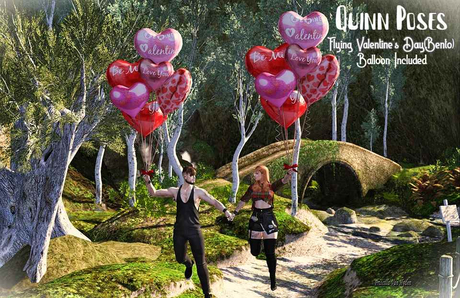 Quinn Poses_Flying Valentine's Day(Bento)