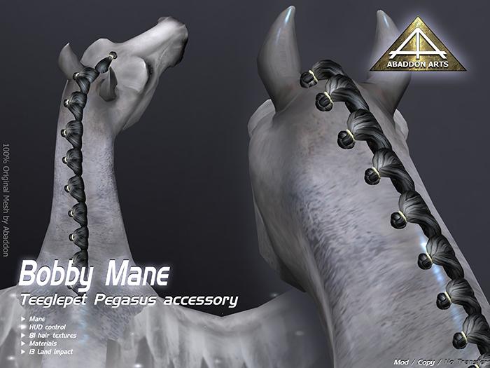 ABADDON ARTS - Bobby Mane [Teeglepet Pegasus]
