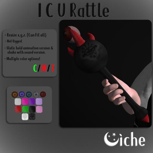Oiche - I C U Rattle