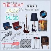 [ zerkalo ] Music is Life - Recordplayer - Blue