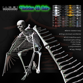 !UPDATE! High-Performance Deluxe Skeleton Avatar -Male- / Bento/Animesh Wings, Save/Load Alpha, Color Change Each Parts