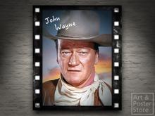 Hollywood Legend JOHN WAYNE   Mesh Wall Panel