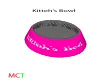 Kitteh's Bowl Pink