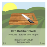 DFS Butcher Block