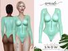 Snow Bodysuit CC ➔ MENTA *materials | bom | rlv*