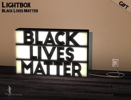 *~*HopScotch*~* Lightbox Black Lives Matter GIFT