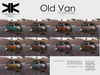 Atrezzo :: Old Van :: Pack 10 color :: {kokoia}