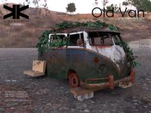 Atrezzo :: Old Van :: Blue :: {kokoia}