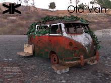 Atrezzo :: Old Van :: Red :: {kokoia}