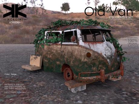 Atrezzo :: Old Van :: Beige :: {kokoia}