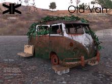 Atrezzo :: Old Van :: Brown :: {kokoia}