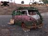 Old van 007 pink