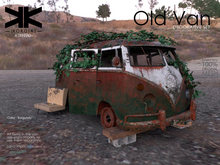 Atrezzo :: Old Van :: Burgundy :: {kokoia}