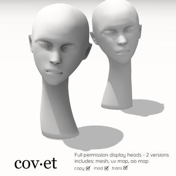 Cov.et - Full Permission Display Heads