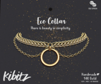 Kibitz - Eco collar - gold