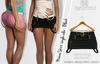 MAEVE FEMALE BLACK SKIRT - MESH - MAITREYA - BELLEZA FREYA - LEGACY - FashionNatic