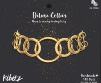 Kibitz - Deluxe collar - gold