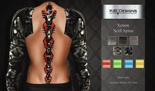 KiB Designs - Xenon Scifi Spine FATPACK