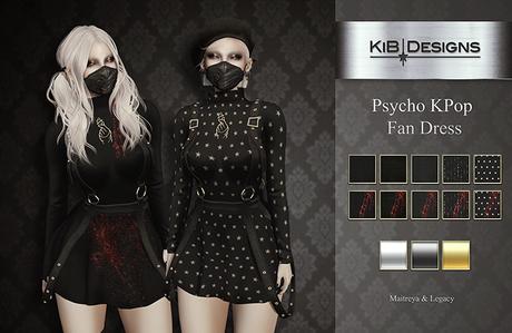 """KiB Designs - Psycho KPop Fan Dress FATPACK """"Wear"""""""
