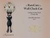 .: RatzCatz :. Wall Clock Cat *Kasimir* 1.1