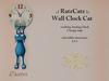 .: RatzCatz :. Wall Clock Cat *Dexter* 1.1