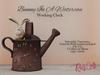 .: RatzCatz :. Clock *Bunny in a Watercan * Box