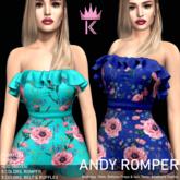 .KIMBRA. - ANDY ROMPER [FLORALS]