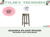 .:TT:.  GIANNA PLANT STAND  ADD ME