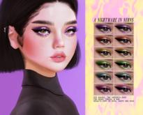 [CATPLNT] 'a nightmare in neons' eyeshadows (omega/genus, BOM)