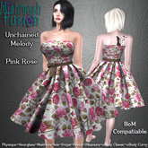 ~*MF*~ Unchained Melody Dress - Pink Rose