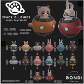 BONDI - Space Plushies - Mouse 14