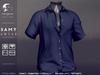 not so bad . mesh . SAMY shirt . navy