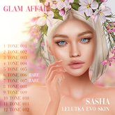 Glam Affair - Lelutka Applier - Sasha 007 RARE