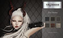 "KiB Designs - Zwi Horns FATPACK  ""Wear"""