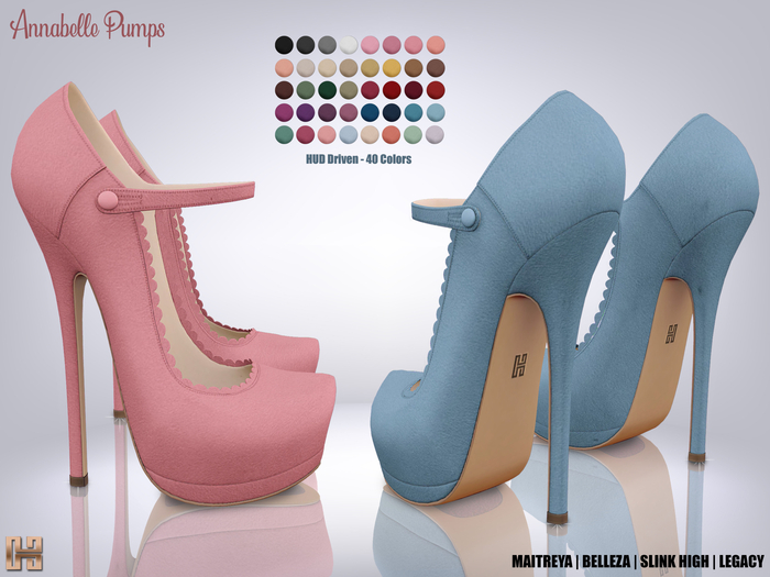 [hh] Annabelle Pumps