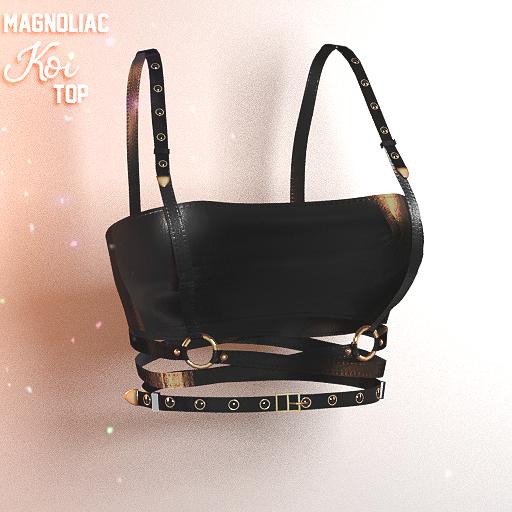 Magnoliac - Koi Top Black (Single)