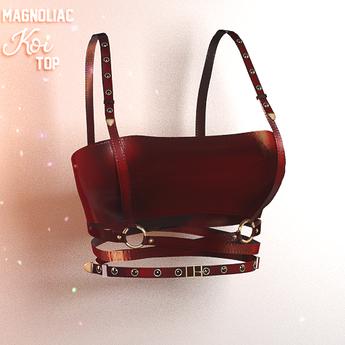 Magnoliac - Koi Top Red (Single)