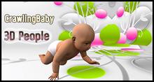 MESH PEOPLE - YO_V.CrawlingBaby