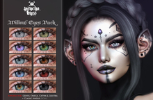 .{PSYCHO:Byts}. Willow Eyes Pack