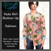~*MF*~ Hula Girl Button Up - Salmon