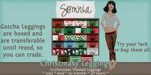 .: Somnia :. Christmasy Leggings {Boxed}