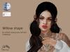 Willow shape - GENUS strong face GIFT001 & Maitreya