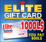 ELITE GIFT CARD 1000 (REZ TO ACTIVATE)