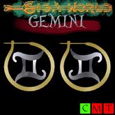 ::GW::Gemini earrings
