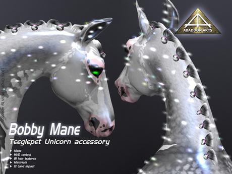 ABADDON ARTS - Bobby Mane [Teeglepet Unicorn]