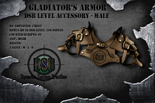 DSB LEVEL Gladiator Chest Armor Male Brown v 1.0
